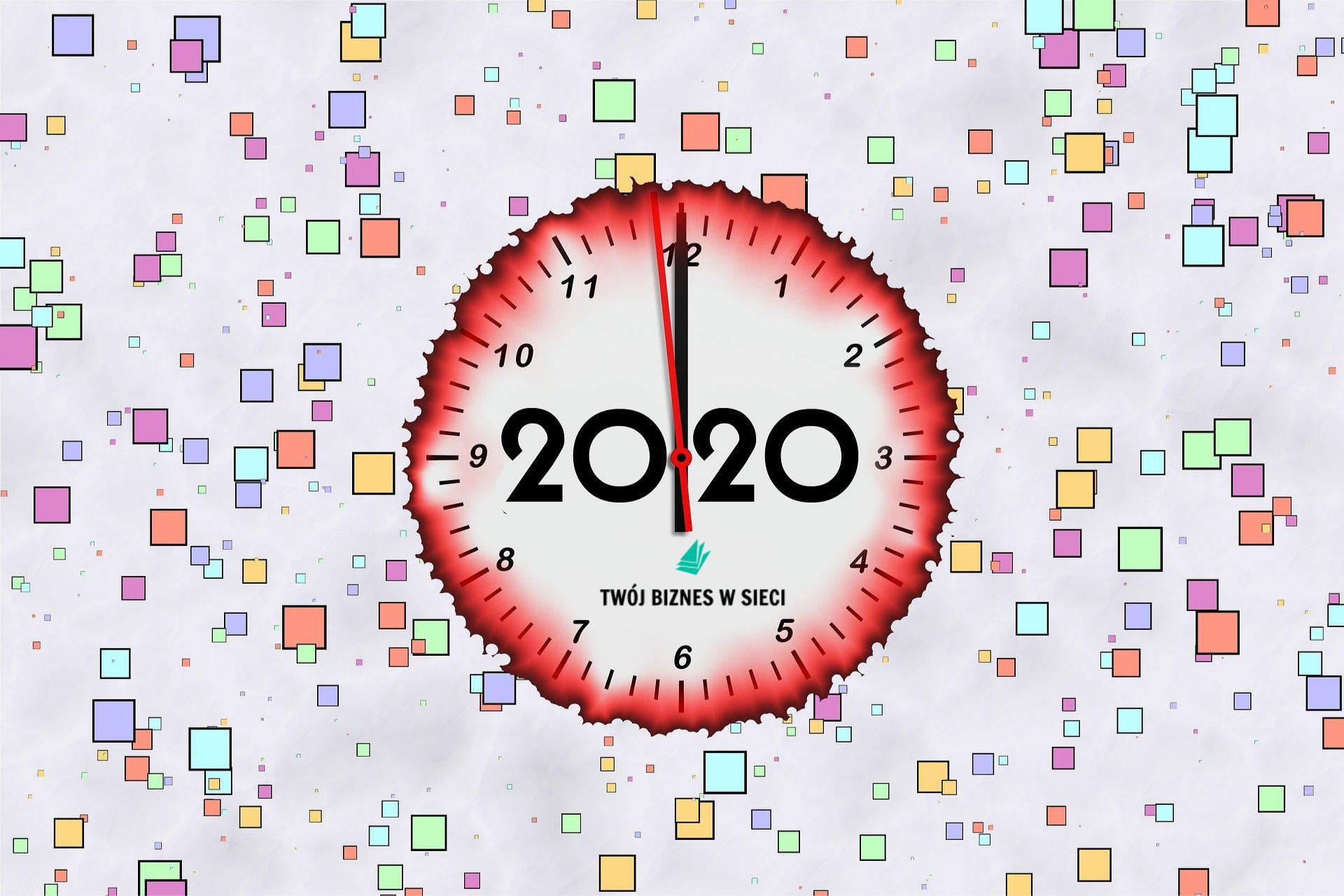 jak zrealizować cele i postanowienia noworoczne 2020 blog