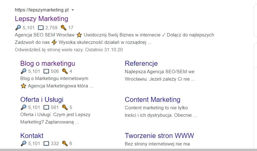 meta opis przykłady